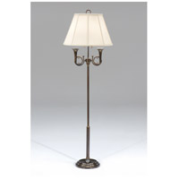 Wildwood Lamps Twin Horns Floor Lamp in Old World Bronze Finish 9277