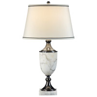 Wildwood Lamps Marble Urn Table Lamp in Genuine Marble 9299
