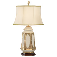 Wildwood Lamps Bound With Brass Jar Table Lamp in Filigree Chased Brass Ormolu 9324