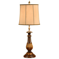 Wildwood Lamps Acanthus Candlestick Table Lamp in Hand Carved And Decorated 9330 photo thumbnail