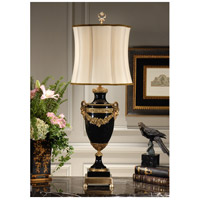 Wildwood Lamps Garland Draped Table Lamp in Porcelain 9401