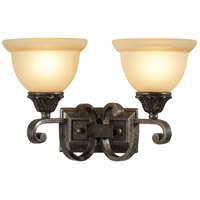 Wildwood Lamps Signature Sconce in Iron With Pewter Finish 9416