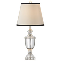 Wildwood Lamps Crystal Urn Table Lamp in Brass 9484 photo thumbnail