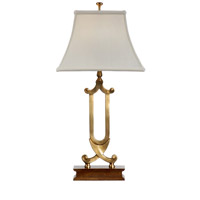 Wildwood Lamps Crossed Scrolls Table Lamp in Antique Old World Patina 9497