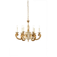 Wildwood Lamps Wood Chandelier 9499