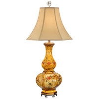 Wildwood Lamps Squared Gourd Vase Table Lamp 9506