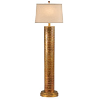 Wildwood Lamps Stacked Ovals Floor Lamp in Distressed Copper 9578 photo thumbnail