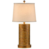 Wildwood Lamps Stacked Ovals Table Lamp in Hand Distressed Copper 9580