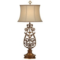 Wildwood Lamps Tuscan Balcony Table Lamp in Firenze Gold 9615 photo thumbnail