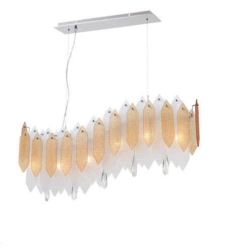 Chrome Stratus Chandeliers