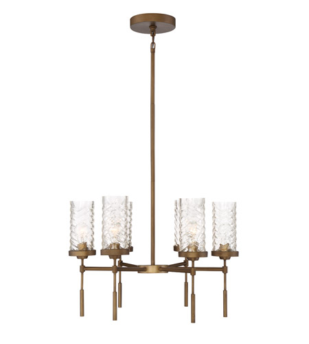 Zeev Lighting CD10116/6/AB Triticus 6 Light 26 inch Antique Brass Chandelier Ceiling Light photo