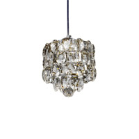 Zeev Lighting Belle LED Mini Chandelier in Chrome 13908-1