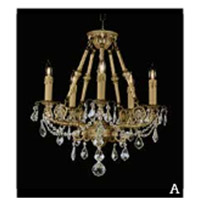 Botricello 5 Light 18 inch Antique Brass Chandelier Ceiling Light
