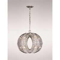 Sephera 12 Light Polished Nickel Chandelier Ceiling Light