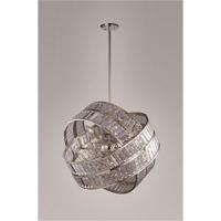Zeev Lighting CD10072/8/PN Una 8 Light Polished Nickel Chandelier Ceiling Light