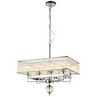 Fantasia 8 Light 18 inch Chrome Chandelier Ceiling Light