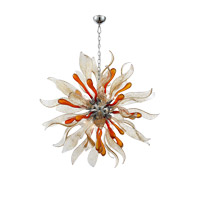 Florence 12 Light 44 inch Chrome Chandelier Ceiling Light