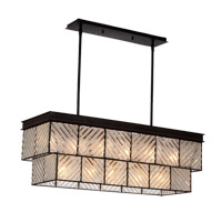 Adaman 11 Light 14 inch Rustic Iron Chandelier Ceiling Light