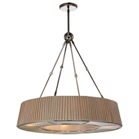 Plait 8 Light 32 inch Polished Nickel Chandelier Ceiling Light