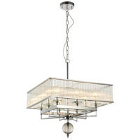 Fantasia 8 Light 21 inch Chrome Chandelier Ceiling Light