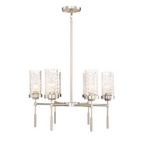 Triticus 6 Light 26 inch Brushed Nickel Chandelier Ceiling Light