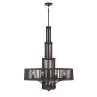 Aetas 8 Light 36 inch Oil Rubbed Bronze Chandelier Ceiling Light