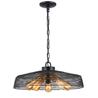 Zeev Lighting CD10139/5/DBZ Urban 5 Light 20 inch Bronze Chandelier Ceiling Light