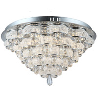 Imperial LED 23 inch Chrome Flush Mount Ceiling Light