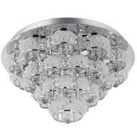 Imperial LED 20 inch Chrome Flush Mount Ceiling Light