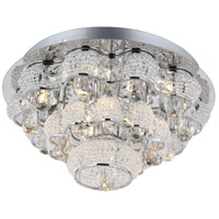 Imperial LED 16 inch Chrome Flush Mount Ceiling Light