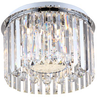 Melody LED 16 inch Chrome Flush Mount Ceiling Light