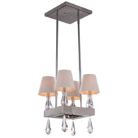 Zeev Lighting MC20011/4/CH Sophia 4 Light 14 inch Chrome Mini Chandelier Ceiling Light