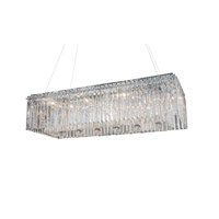 Zeev Lighting Quentin 10 Light Chandelier in Chrome MD73857