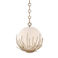 Consus 1 Light 10 inch Satin Brass Mini Pendant Ceiling Light