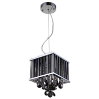 Zeev Lighting MP40020/4/CH-SM Easton 4 Light 8 inch Chrome Mini Pendant Ceiling Light