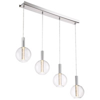 Empire LED 7 inch Chrome Mini Pendant Ceiling Light