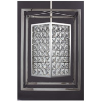 Zeev Lighting P30016/3/SS Struttura 3 Light 14 inch Stainless Steel Pendant Ceiling Light