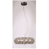 Eternity 8 Light Chrome Pendant Ceiling Light
