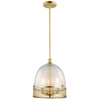 Zeev Lighting P30035/3/MGD Theia 3 Light 11 inch Matte Gold Pendant Ceiling Light