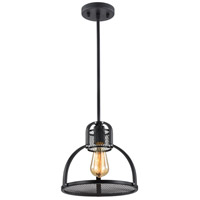 Zeev Lighting P30042/1/DBZ Canton 1 Light 11 inch Bronze Pendant Ceiling Light