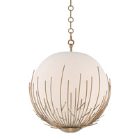 Consus 5 Light 18 inch Satin Brass Pendant Ceiling Light