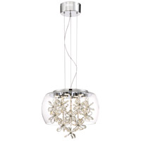 Destiny LED 15 inch Chrome Pendant Ceiling Light