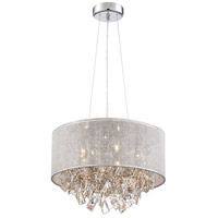 Zeev Lighting P30078/5/CH Pax 5 Light 17 inch Chrome Pendant Ceiling Light