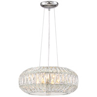 Lunar 6 Light 16 inch Chrome Pendant Ceiling Light
