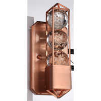 Imbrium 1 Light 4 inch Brushed Copper Wall Sconce Wall Light