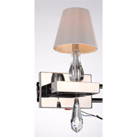 Sophia 1 Light 8 inch Chrome Wall Sconce Wall Light