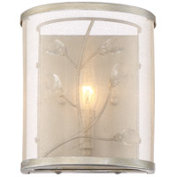 Vine 1 Light 8 inch Burnished Silver Wall Sconce Wall Light
