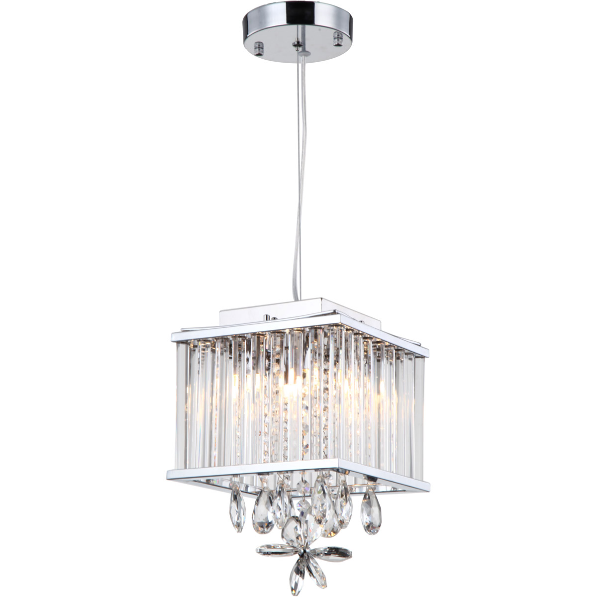 Details about zeev lighting mp40020 4 ch cl easton mini pendant chrome
