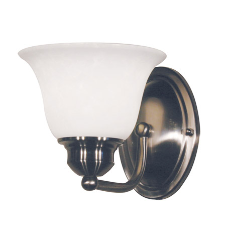 Z-Lite Huntingdale 1 Light Vanity in Brushed Nickel 100-1V-BN photo