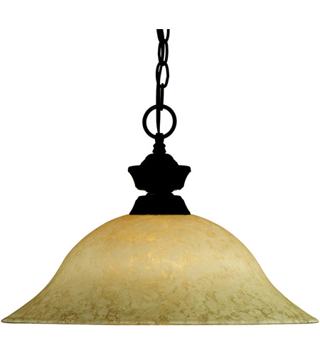 Z-Lite Signature 1 Light Pendant in Bronze 100701BRZ-GM16 photo